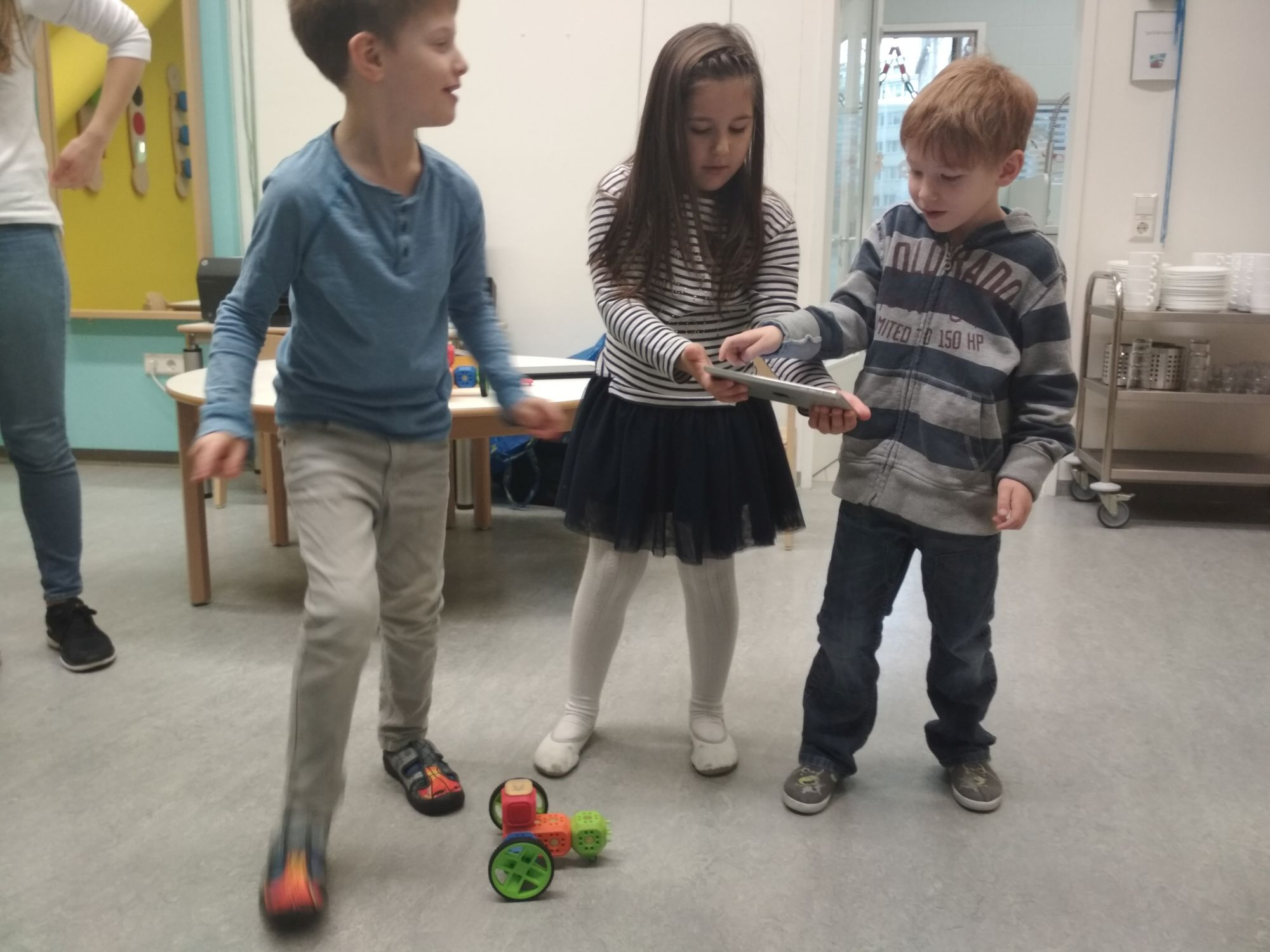 RoboFIT Robo Wunderkind Workshop ÖBB-Kindergarten
