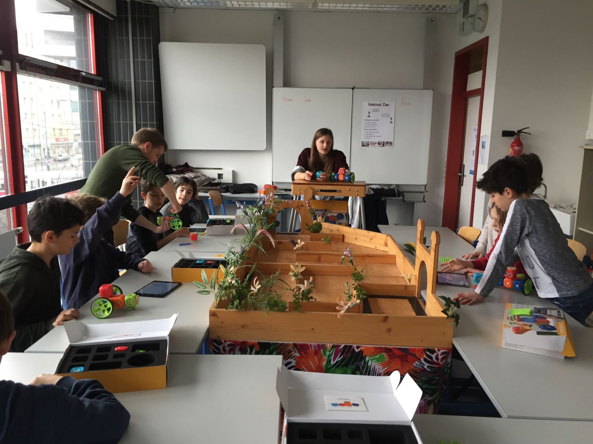 RoboFIT Robo Wunderkind Workshop Gymnasium Stubenbastei